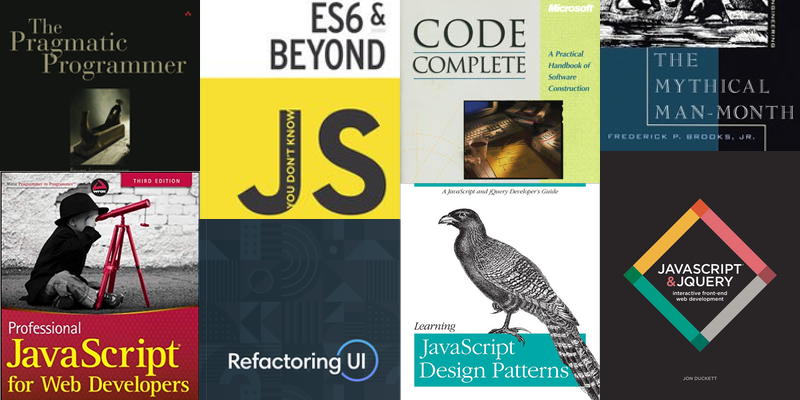 8 great reads for aspiring JavaScript devs 📚