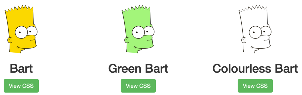 The Simpsons in pure CSS