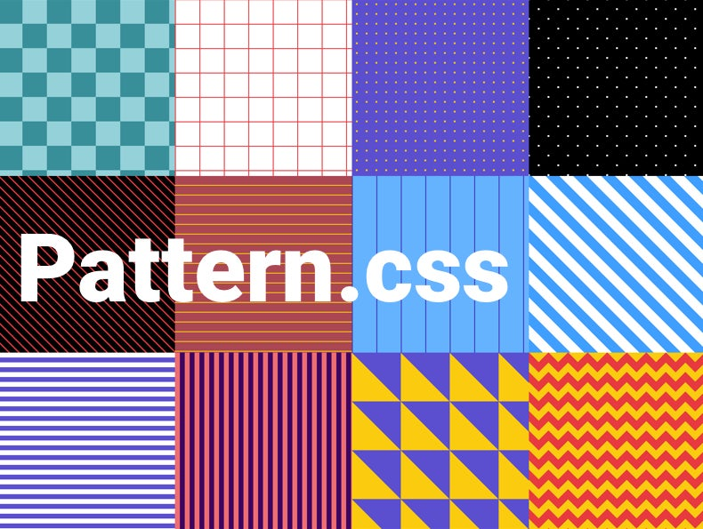 A CSS only library to fill empty background with beautiful patterns