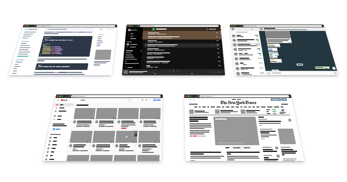 Turn any website into a live wireframe