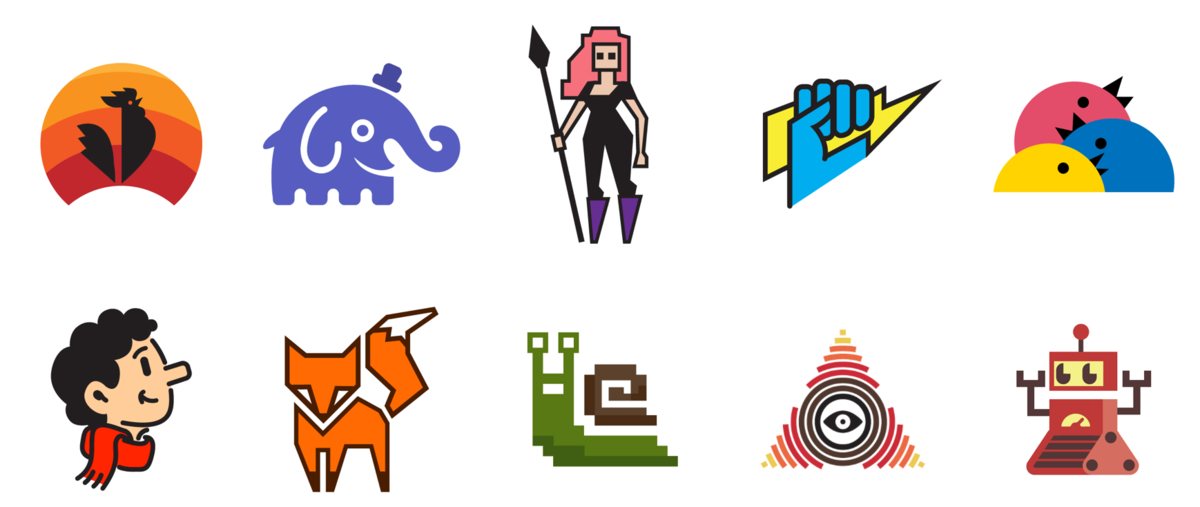 Free logos for your open source projects