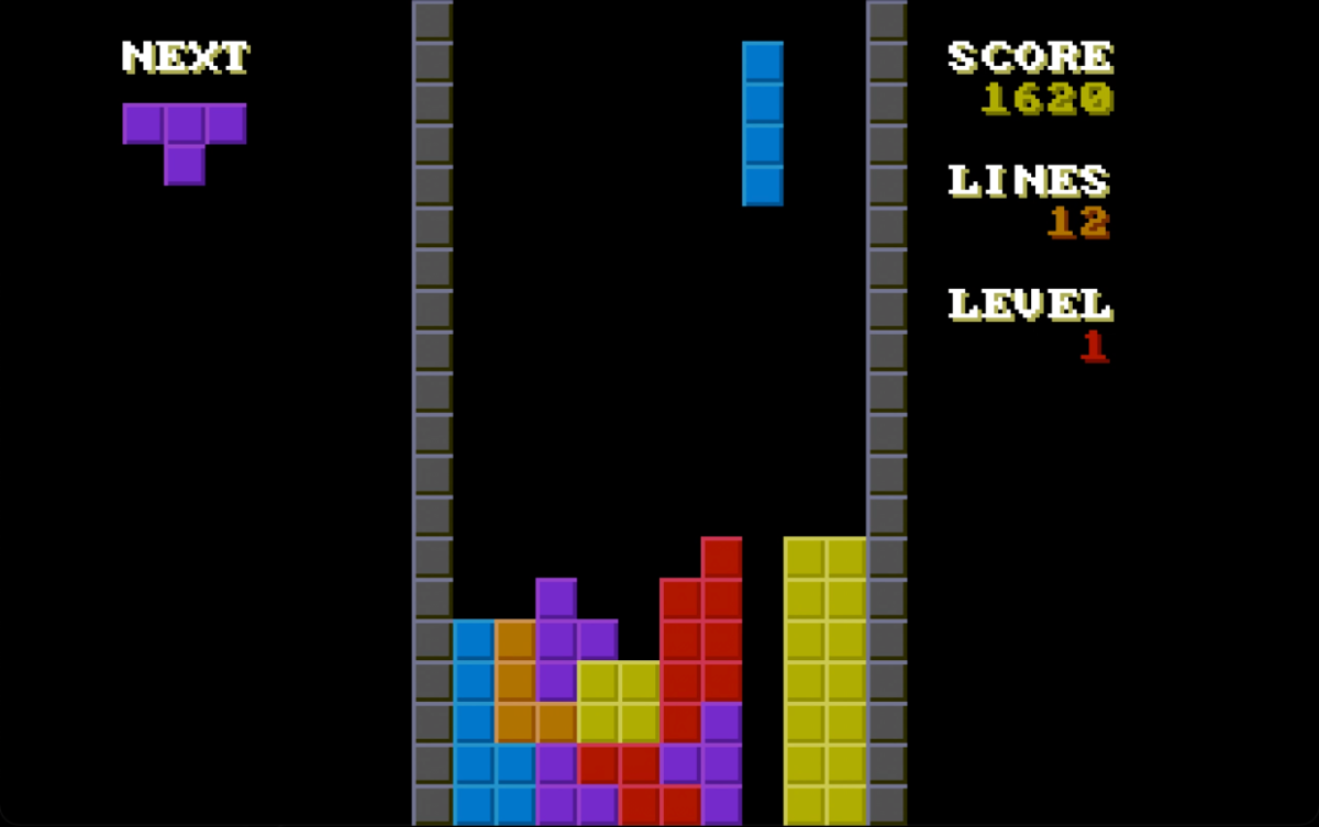 An operating system that only plays Tetris