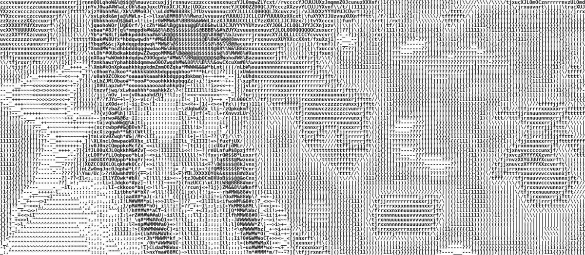 A Python-based ASCII generator