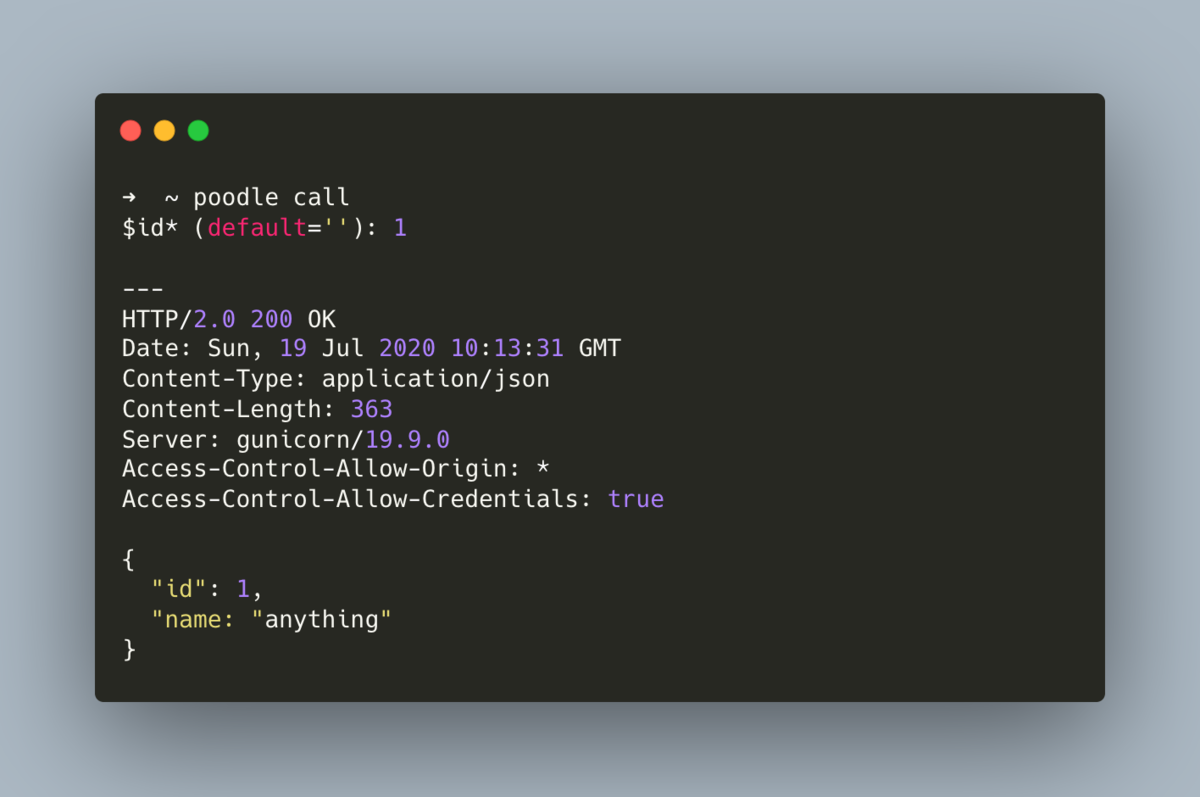 A fast and beautiful command line tool to build API requests