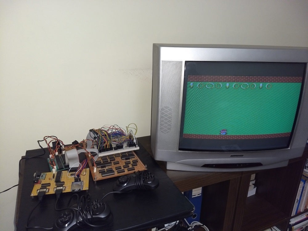 Building a 'homebrew' video game console