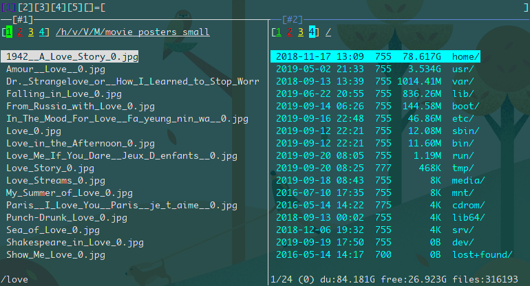 type less, do more, wayyy faster with this  full-featured terminal file manager