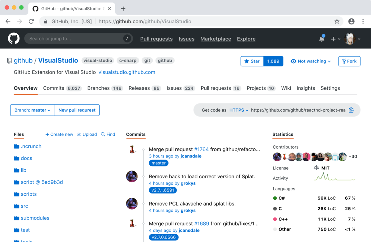 Redesigning GitHub's repository page