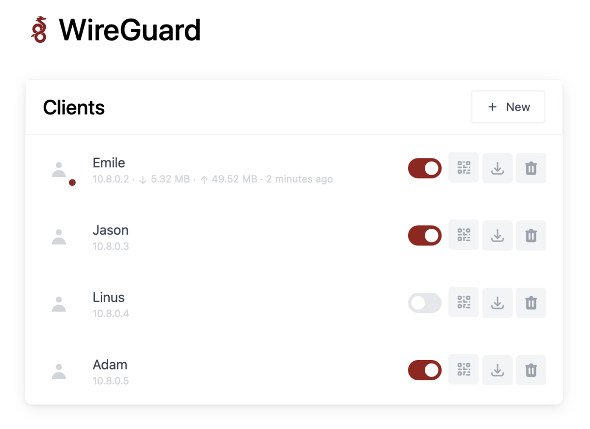 The easiest way to install & manage WireGuard on any Linux host