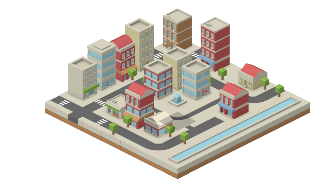 An isometric city builder in JavaScript