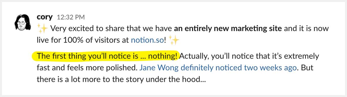 Notion's journey to Next.js