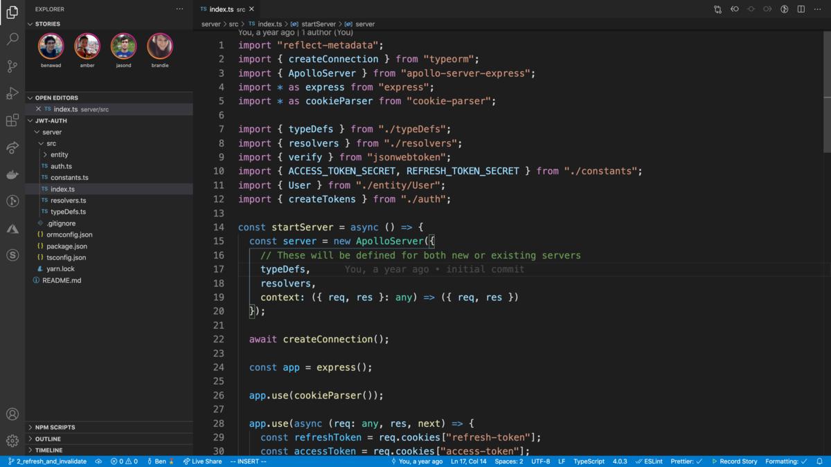 Stories for VS Code 😱