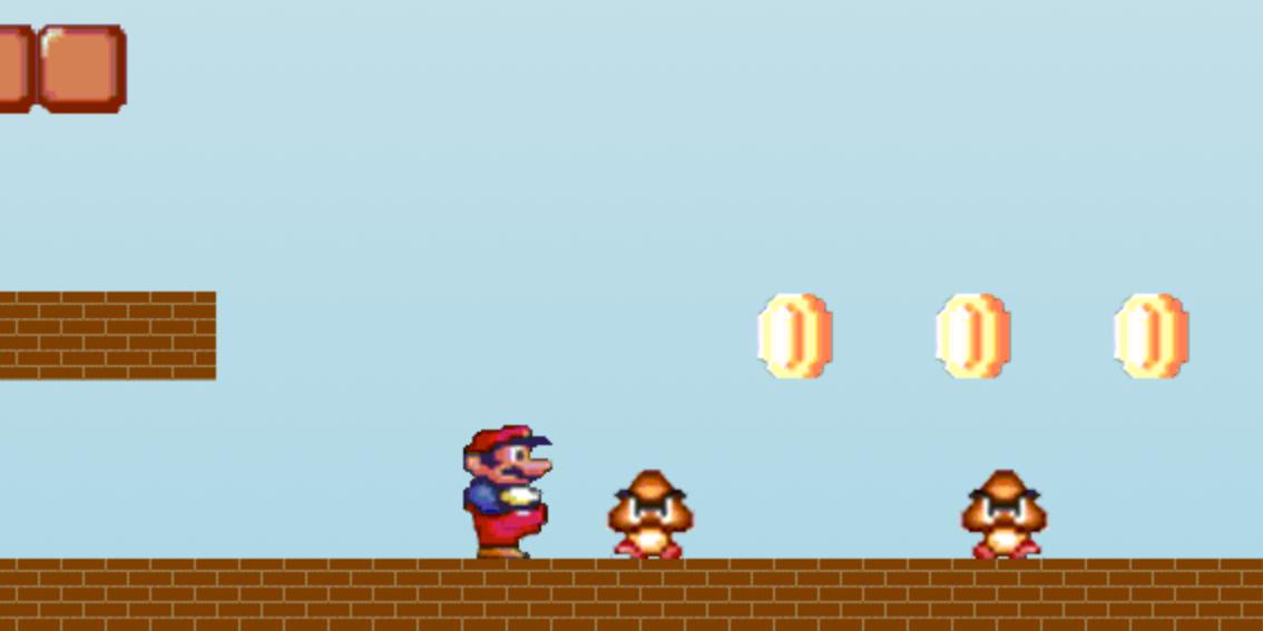 It's a-me, HTML Mario!