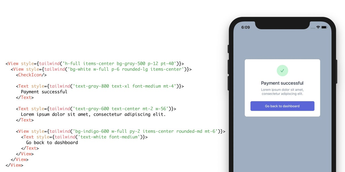 Use Tailwind CSS in React Native projects