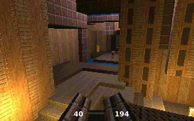 An homage to Quake in 13kb of JS