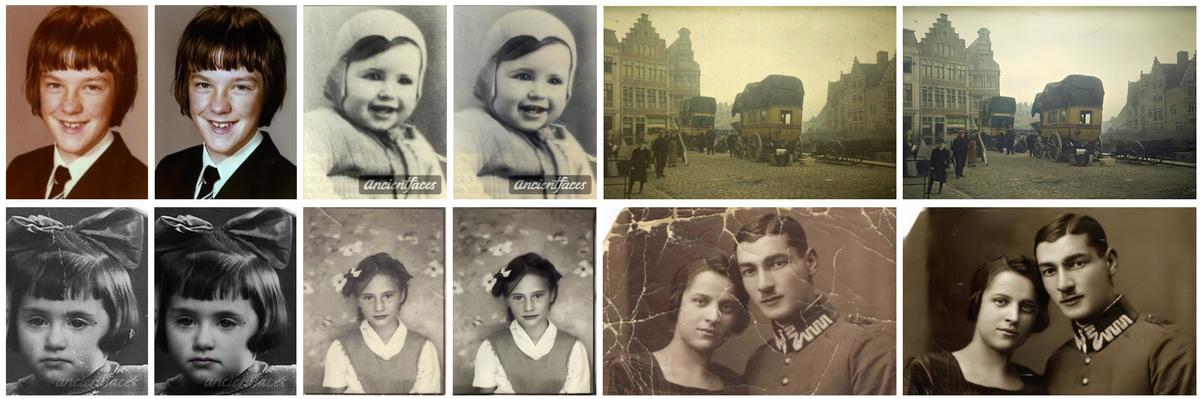 Microsoft's deep learning approach to restoring old photos