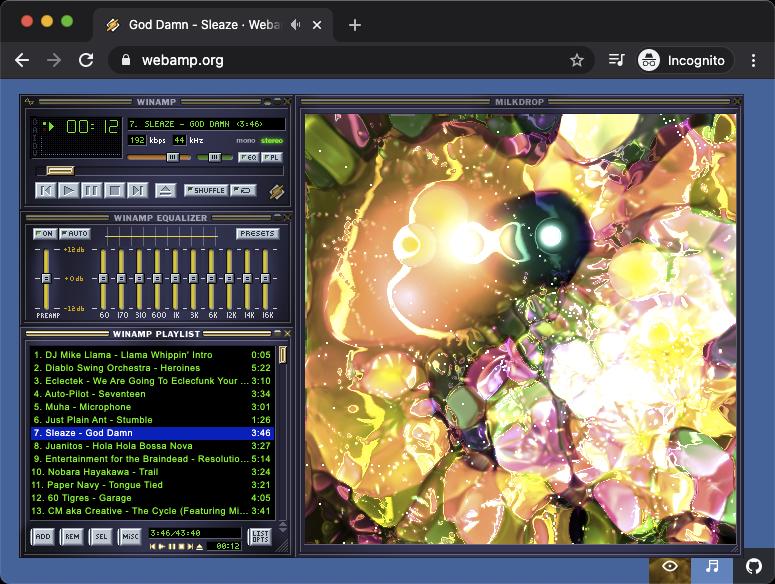 Speeding up Webamp's music visualizer with WebAssembly