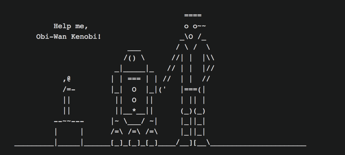 Using Postgres to \watch Star Wars