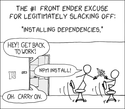 An XKCD excuse generator